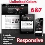 Athena Black - Unlimited Colors, Images, Layouts - 5 Free Modules - Responsive Skin Mobile